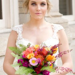 A Stunning Bridal Bouquet By Bliss Wedding Florist