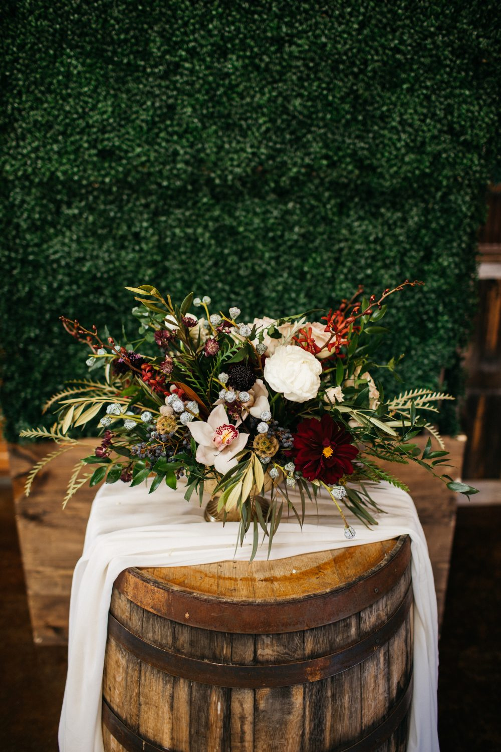 A Gorgeous Centerpiece By Bliss