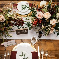 Amazing Table Wedding Flowers Fort Collins
