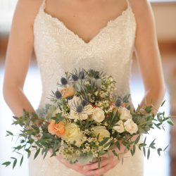 A Bride And Her Colorado Bridal Bouquet