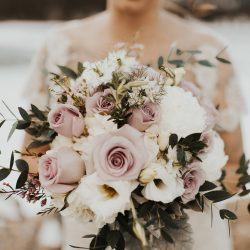 Stunning Bridal Bouquet By Bliss Florist