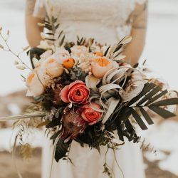 That Air Plant Bridal Bouquet Is Perfect