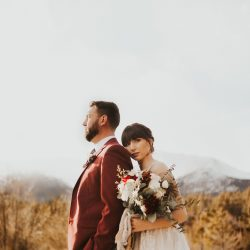 That Rocky Mountain Wedding Setting