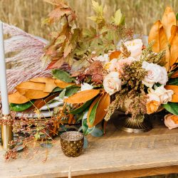 Gorgeous Fall Centerpiece Flowers In Colorado