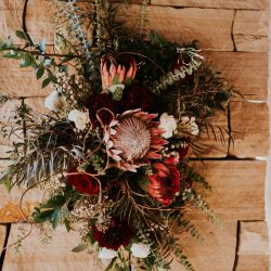 Stunning colors by Bliss Wedding Florist.