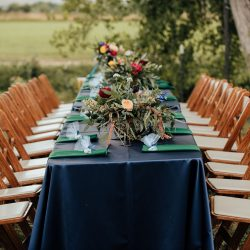 That amazing outdoor table setting.