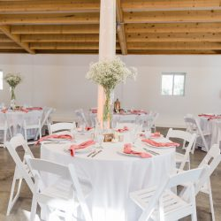 Beautiful reception decor by Bliss Wedding Florist.