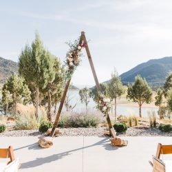An amazing Colorado ceremony setting.
