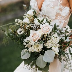 A classic bouquet by Bliss Wedding Florist.