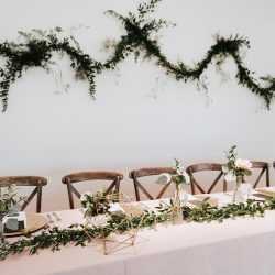 Gorgeous Head Table Setting By Bliss