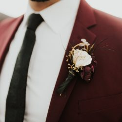 Boutonnière from Bliss.
