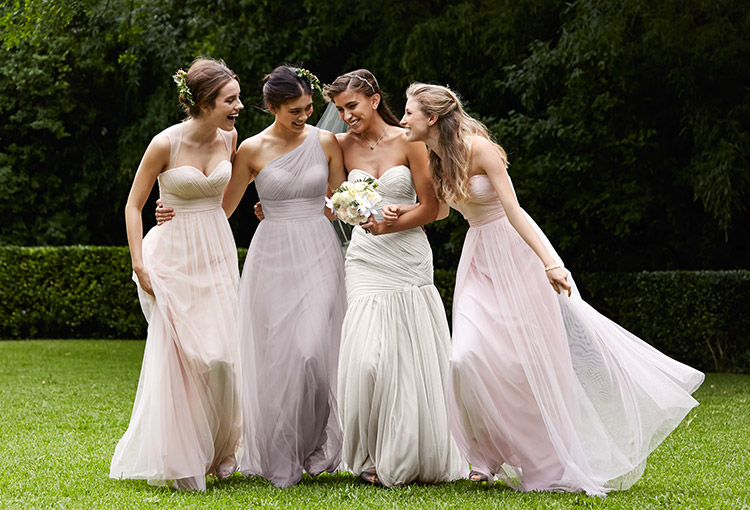 Spread The Love Wtoo Maids Blue Bridal Boutique