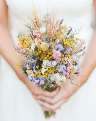 Country Bridal Bouquet | Blue Bridal Boutique | Denver Wedding Shop