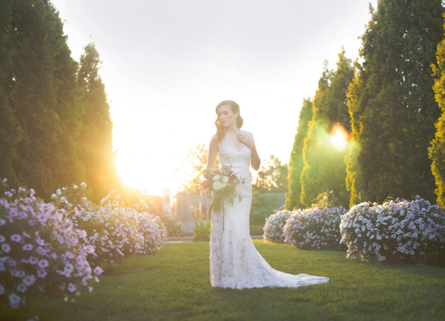 Summertime Wedding | Blue Bridal Wedding Dresses in Denver