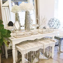 Bridal Jewelry and Accessory Display | Blue Bridal Boutique | Denver, Colorado