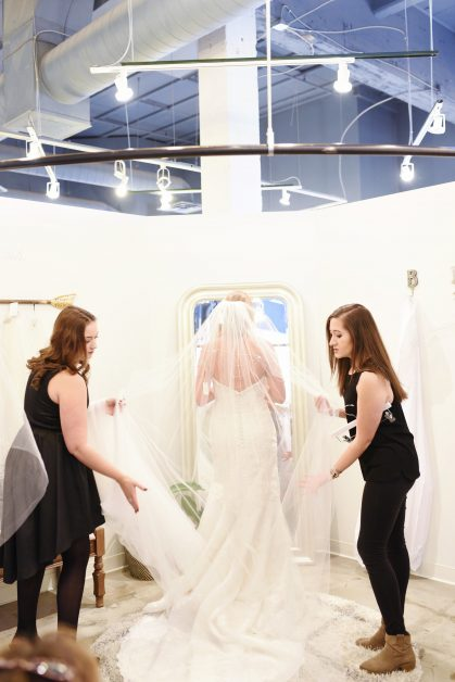 Bridal Gown Fittings and Alterations | Blue Bridal Boutique | Denver, Colorado