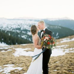 Colorado Thanksgiving Mountain Elopement