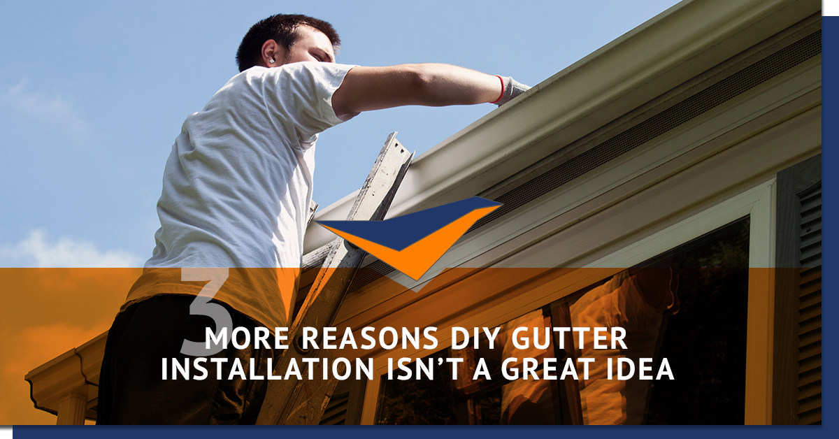 Gutter installation mt juliet more reasons to leave it to a 3 more reasons diy gutter installation isnt a great idea solutioingenieria Images