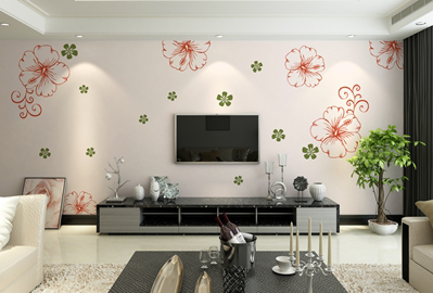 Wall Murals For TV Rooms