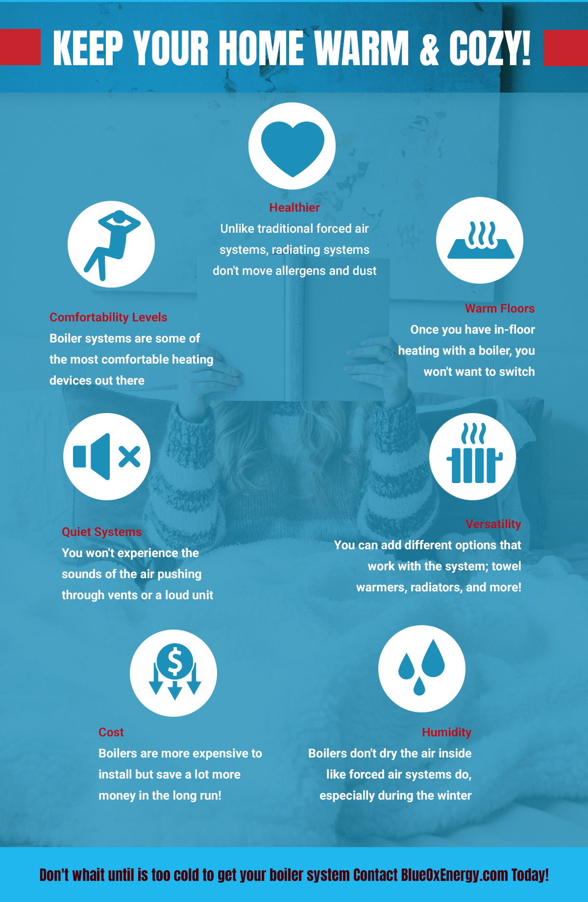Benefits of having a boiler from BlueOx Energy