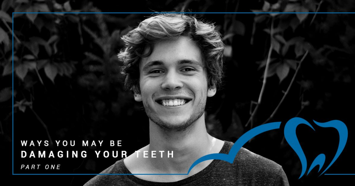 Tooth damage causes. Discussion by Dr. Corpron, your south austin family dentist.