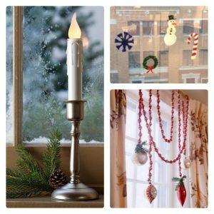 Holiday Window Decorations