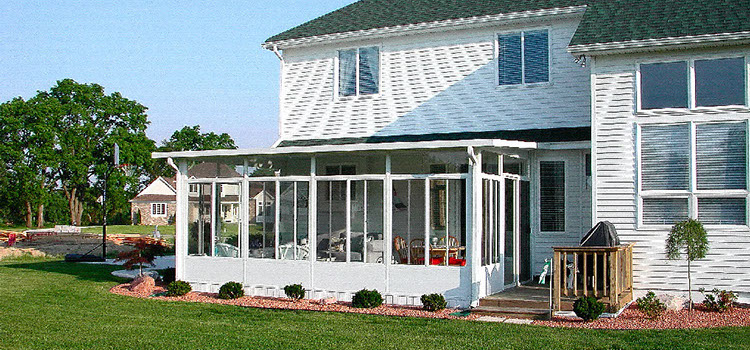 sunrooms contact us for a kansas city sunroom installation blue
