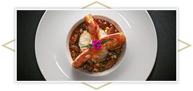 Andouille Shrimp & Grits