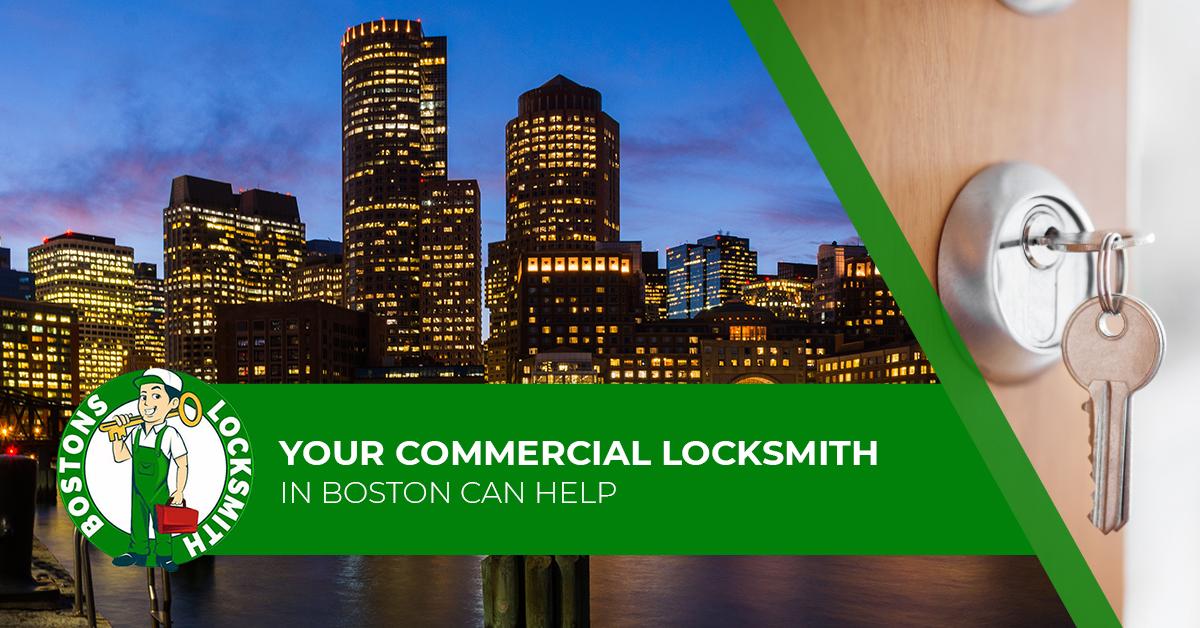 commercial locksmith in boston