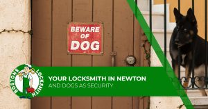 locksmith dogs as security
