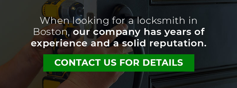 Years of Experience Great Reputation Locksmith