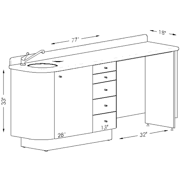 Doctoru0027s Side Cabinet