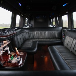 Limo Service in Montana-Limo Interior-Classic Limo