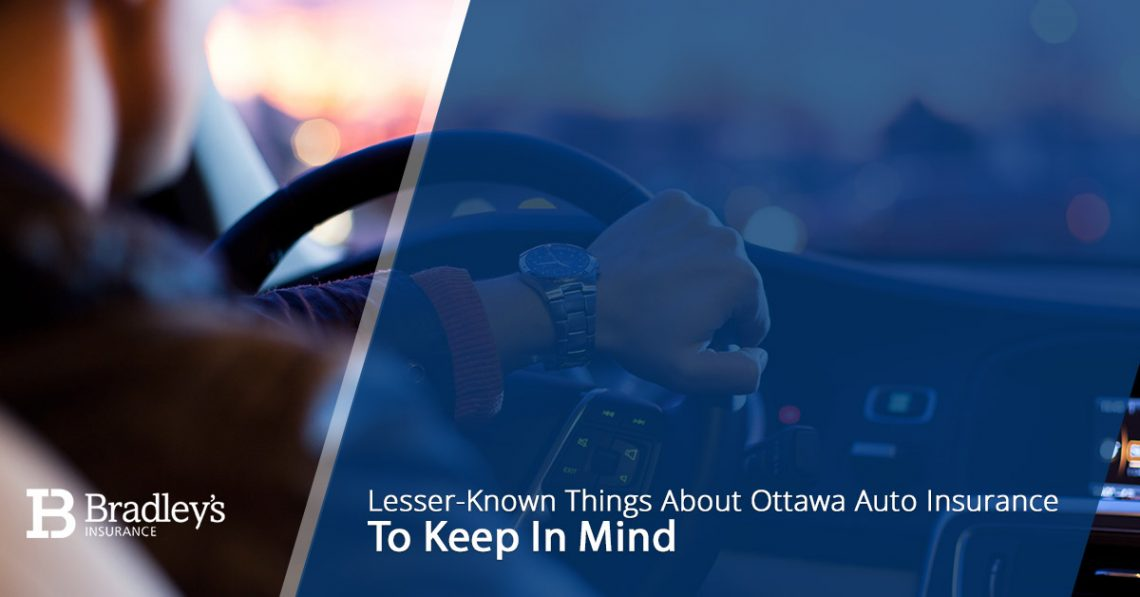 Lesser Known Things About Ottawa Auto Insurance