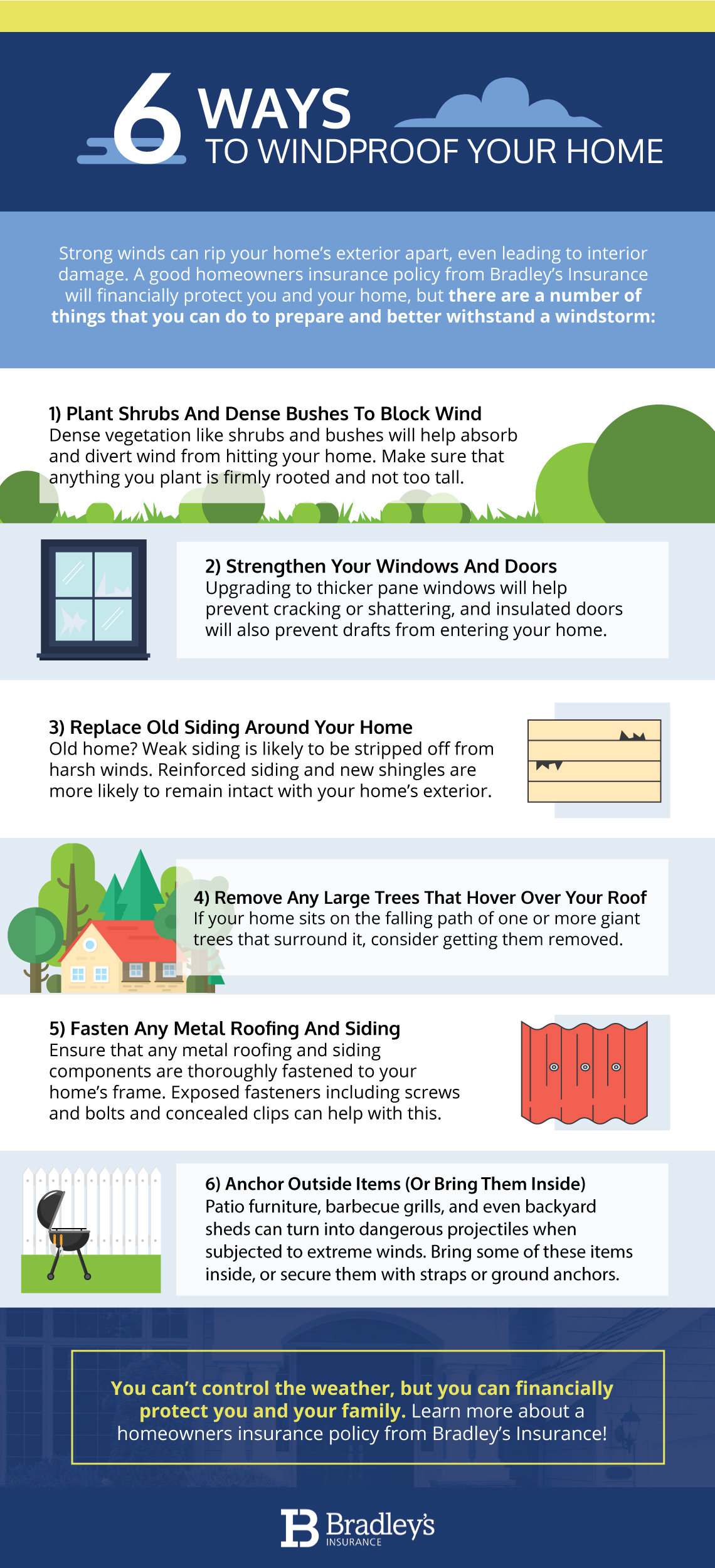 6 Ways To Windproof Your Home