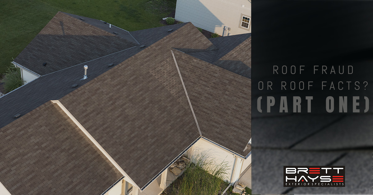 Roof Fraud Or Roof Facts Part One Roofing Specialist