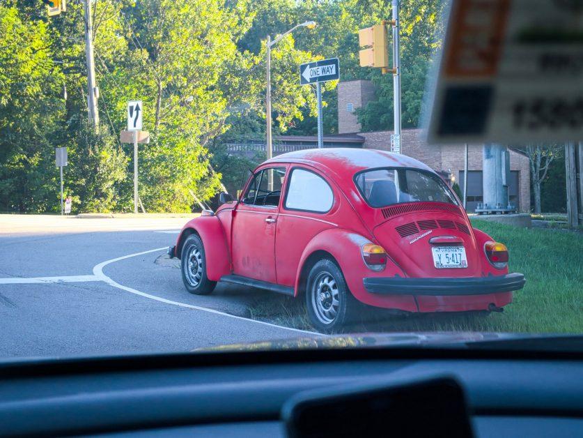 VW Bug with tinted windows