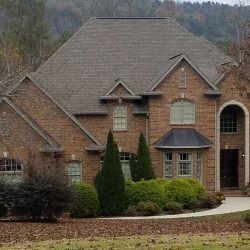 A professional roof replacement by Bullard Roofing contractors in Blountsville.