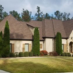 A beautiful new roof in Blountsville from Bullard Roofing.