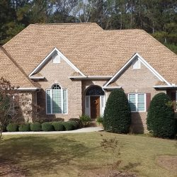 A residential roof replacement in Blountsville by Bullard Roofing.