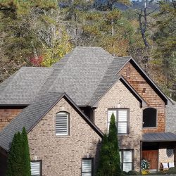 A roof replacement in Blountsville by Bullard Roofing.