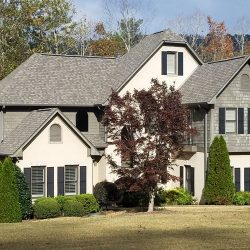 A residential roofing project in Blountsville by Bullard Roofing.