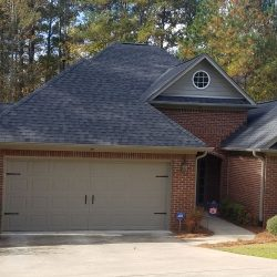 A new roof by Bullard Roofing contractors in Blountsville.