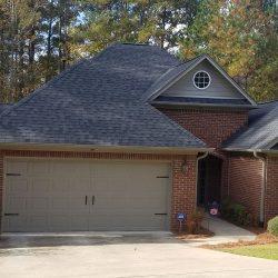 A new roof by Bullard Roofing contractors in Blountsville.