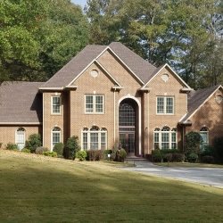 A new residential roof from Bullard Roofing contractors in Blountsville.