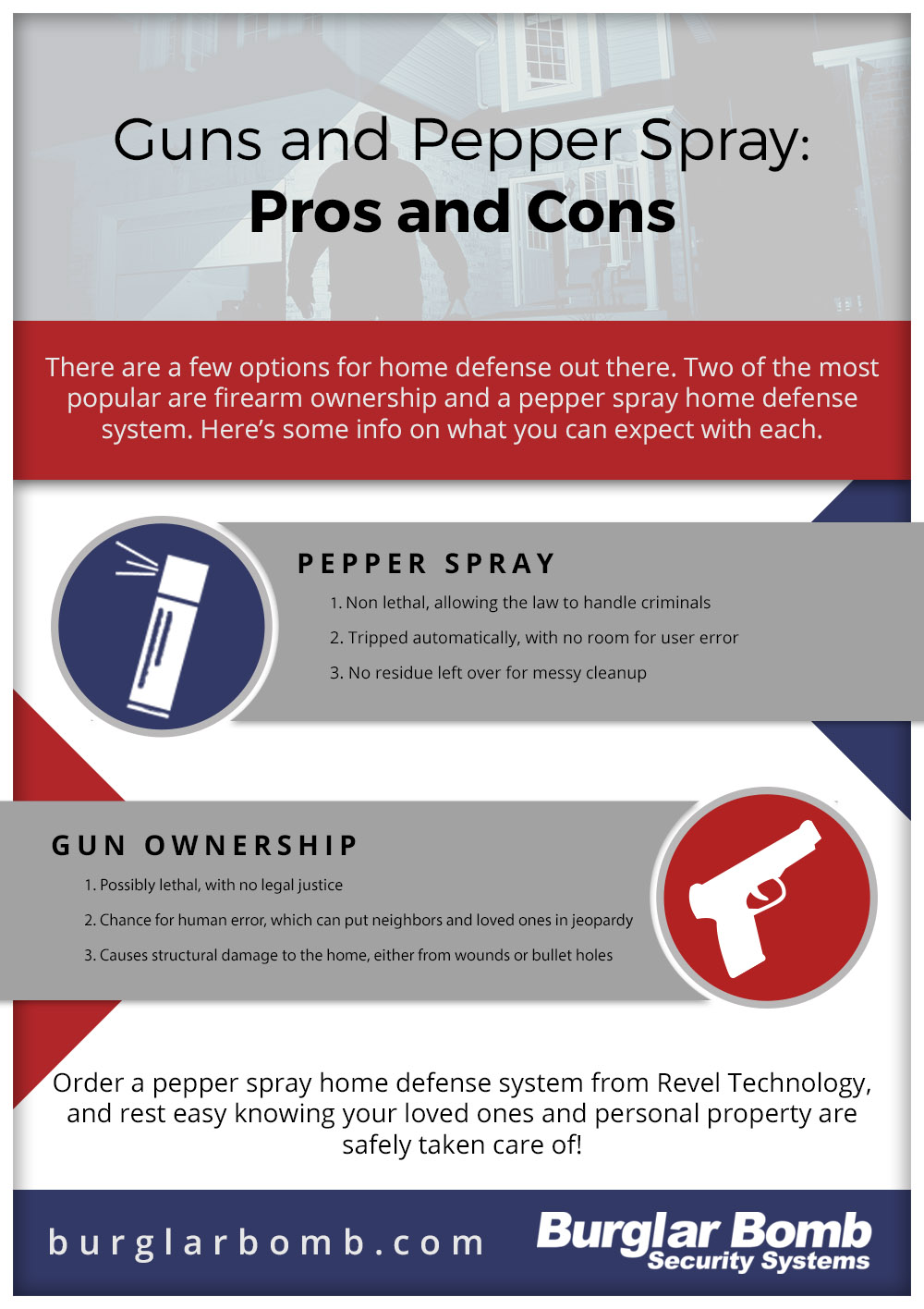 pepper spray home defense benefits