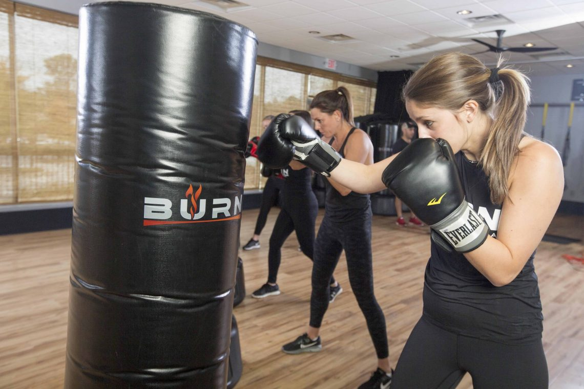 Cardio Kickboxing Fitness Classes Poncey