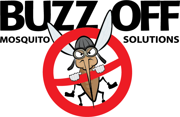 Buzz Off Mosquito Solutions logo in Wisconsin