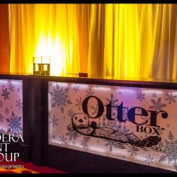 Bar lighting and event lighting for an Otter Box event