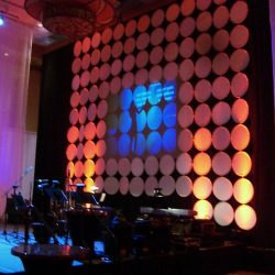 Setting up personalized event lighting